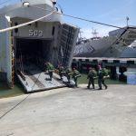 KRI Amboina 503 Menuju Ambalat Dukung Satgas Marinir