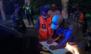 Ops Aman Nusa II Bersama Tiga Pilar Kembali Melakukan Patroli Pencegahan Penularan Covid-19