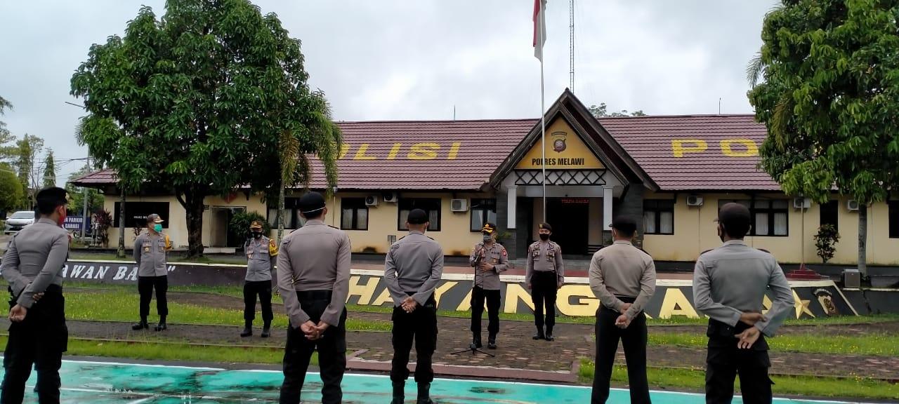 Cek Kesehatan Personil dan Sarpras, Polres Melawi Siap Hadapi Rangkaian Pilkada di Melawi