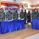 Pangkolinlamil Hadiri Upacara Virtual Penutupan Latihan Armada Jaya ke XXXVIII
