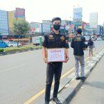 Ormas Gibas dan Komunitas Motor Karyawan Rumah Sakit PMI Kota Bogor, Galang Dana Bantu Korban Banjir Bandang