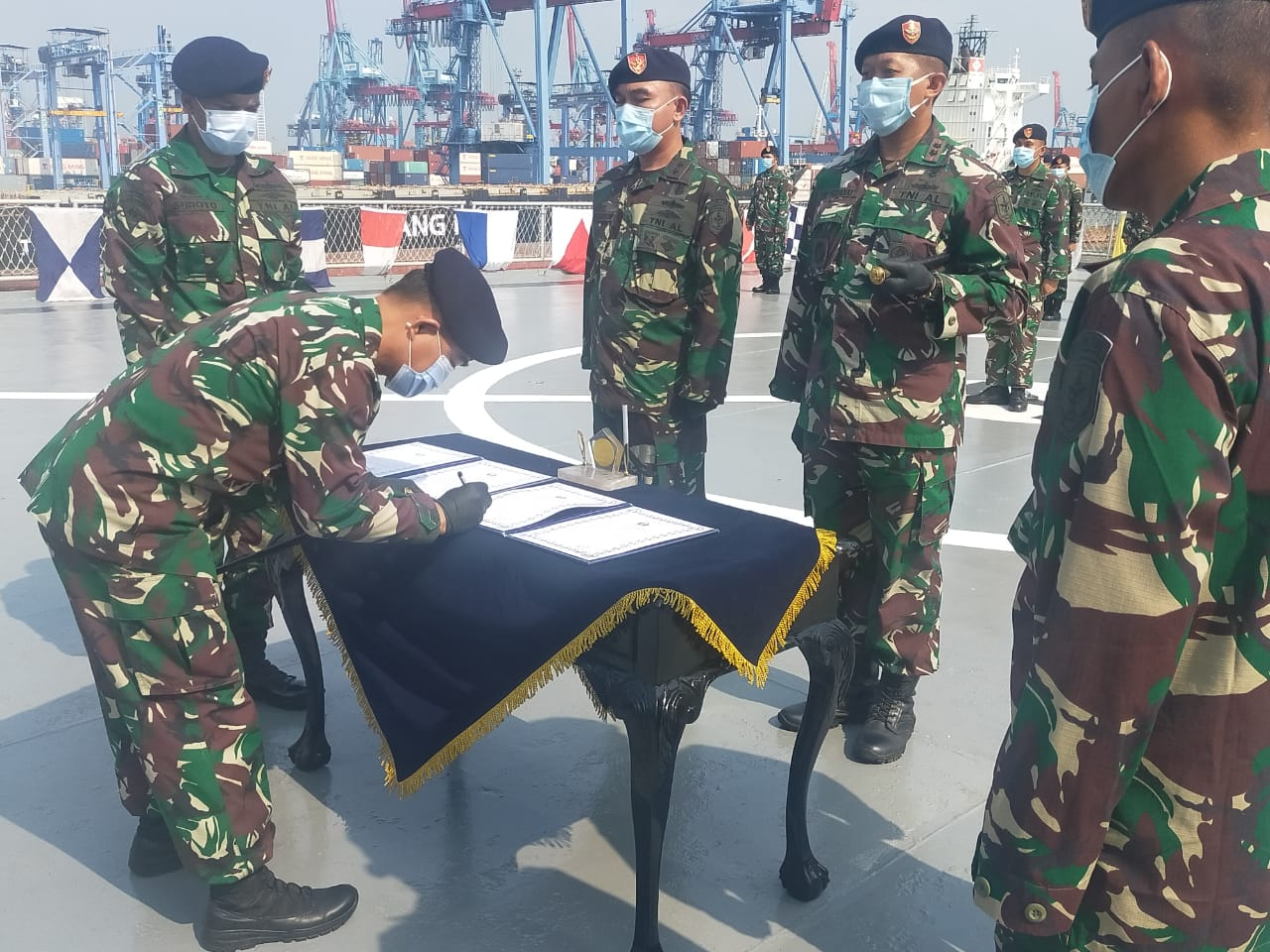 Alumni Sesko Filipina Jadi Komandan KRI Tanjung Kambani 971