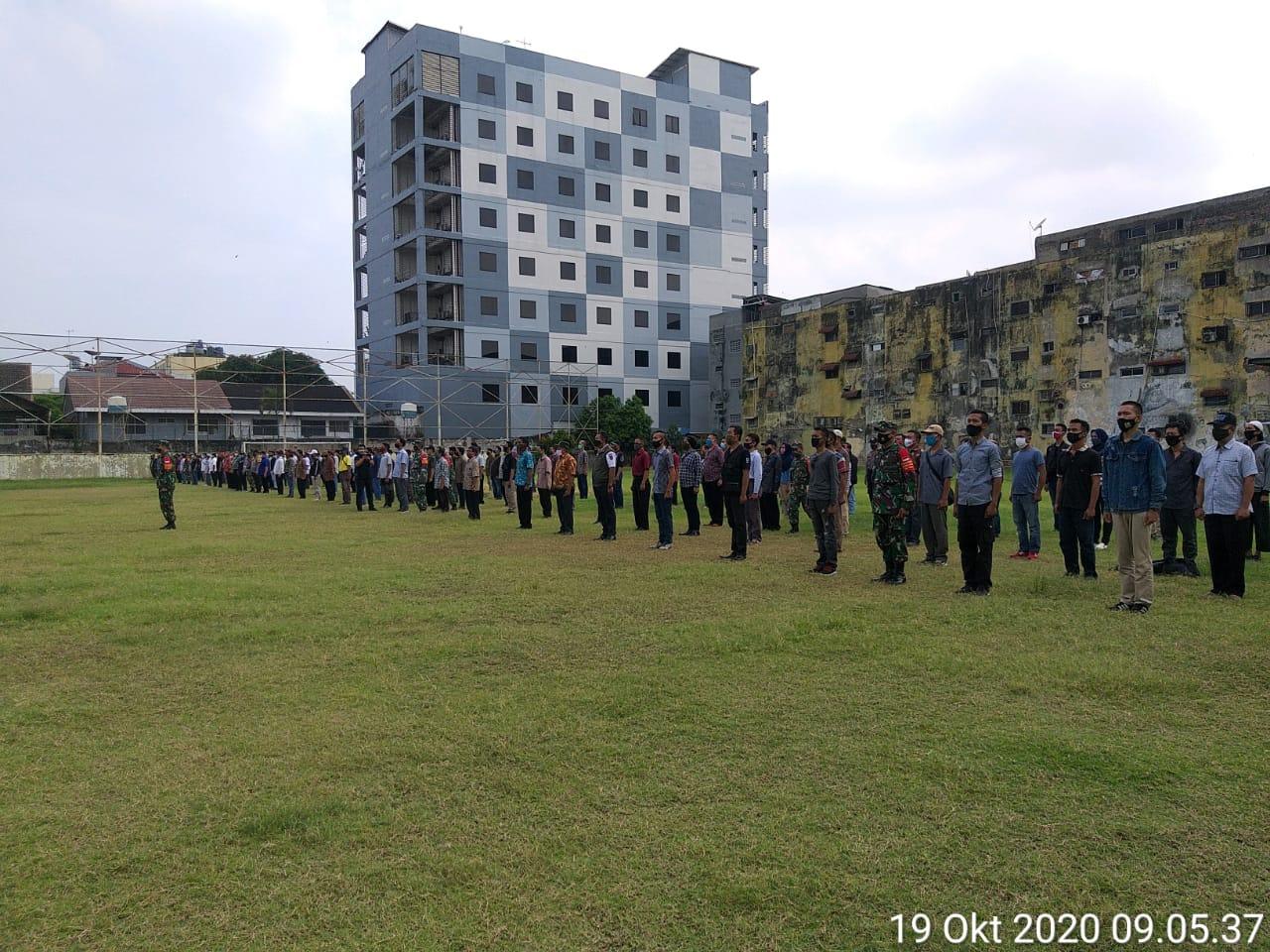 Antisipasi Anarkisme, Polisi dan TNI Di Jakarta Barat Ajak Masyarakat Jaga Jakarta