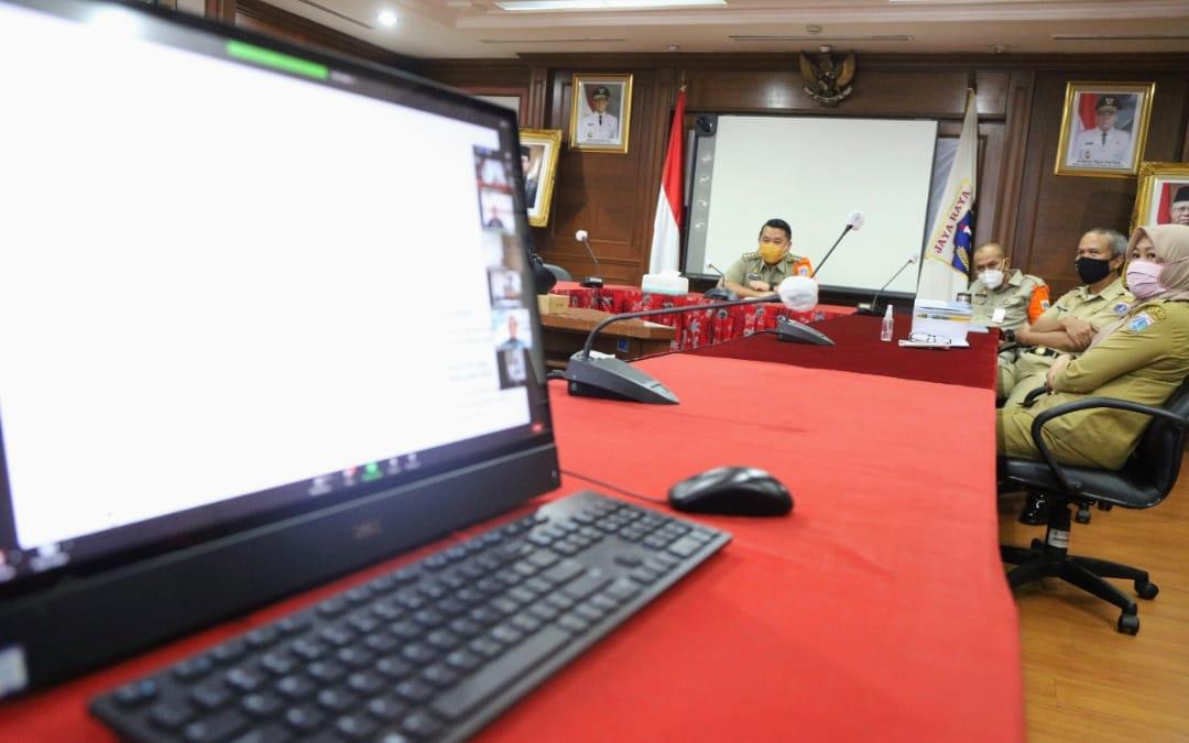 Pemkot Jakut Ikuti Pelatihan Capacity Building Transformasi Digital Tahun 2020.