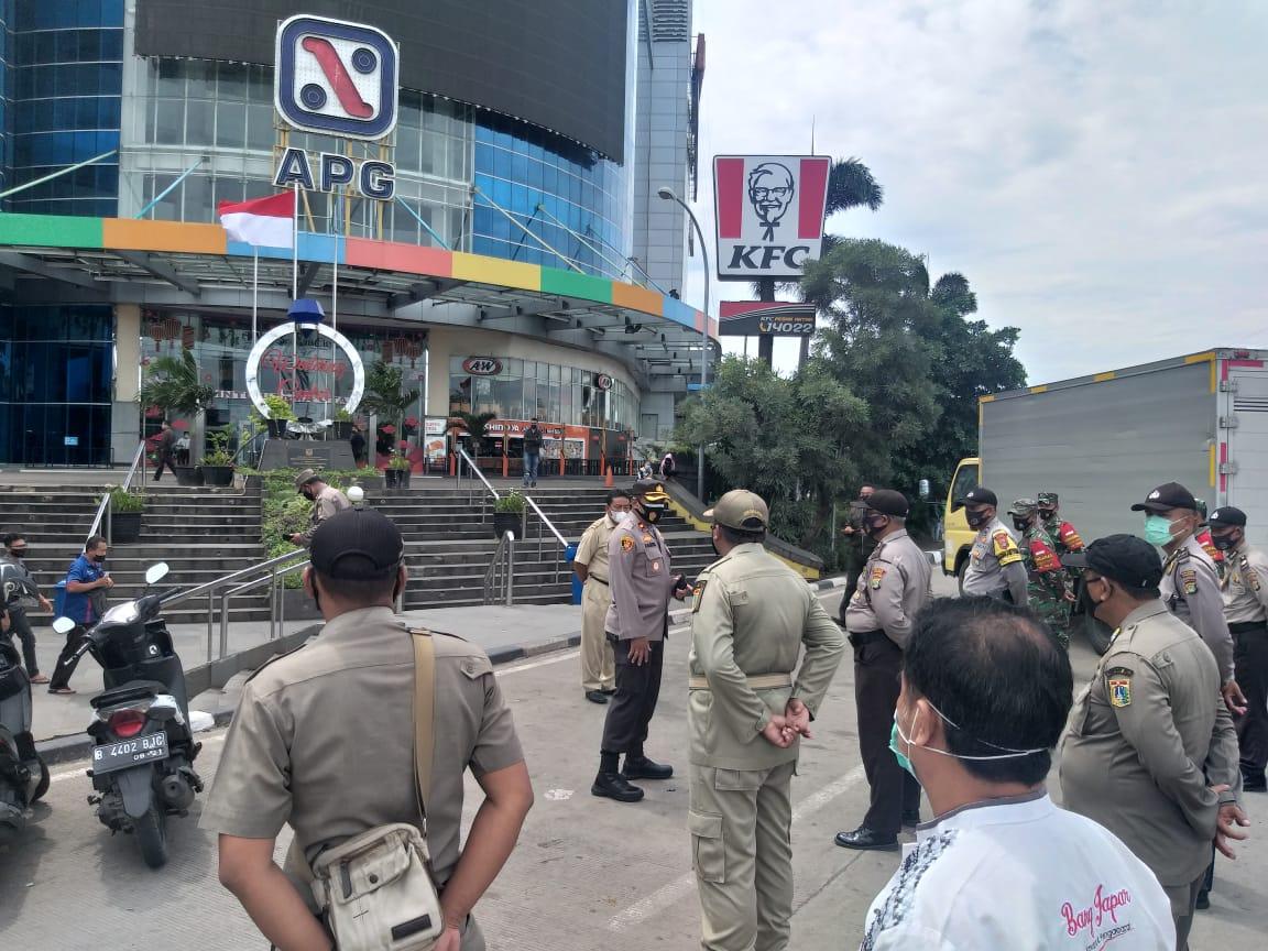 Ops Yustisi sekitar Mal Season City Petugas Jaring 7 Pelanggar Prokes