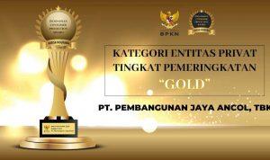 Sukses Berikan Layanan Perlindungan Konsumen, PT Pembangunan Jaya Ancol Raih Penghargaan Predikat Gold ICPA.