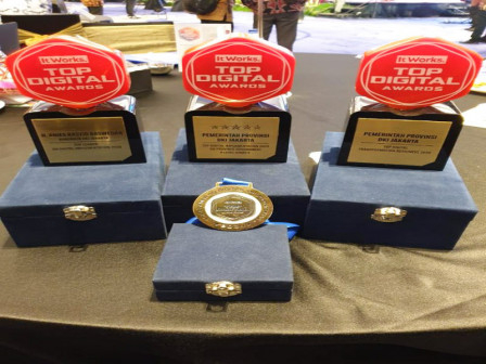 Dapatkan 3 Penghargaan Sekaligus, Jadikan Kota DKI Jakarta Sebagai Kota Digital